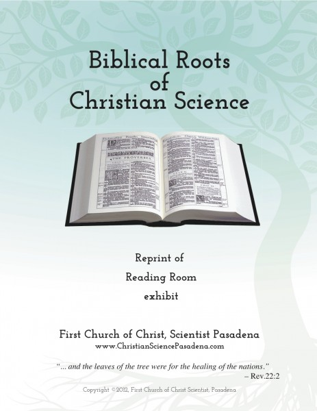 Biblical Roots of Christian Science cover