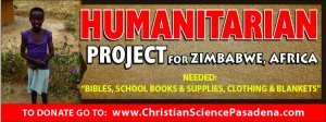 Humanitarian Project for Zimbabwe, Africa