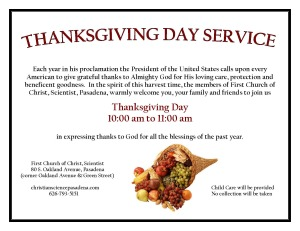 Thanksgiving flyer 2014