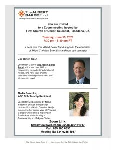 Abf Presentation Flyer Pasadena Ca And Neighboring Churches June 2021 Page 001
